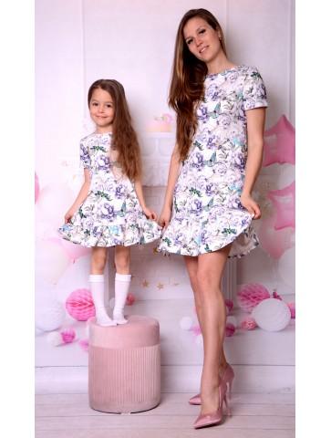 Eleganckie sukienki dla mamy i córki