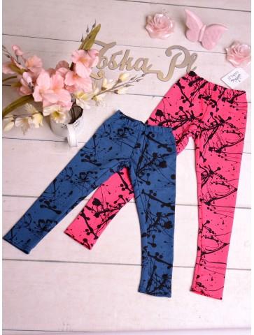 Bawełniane legginsy dla dziewczynek
