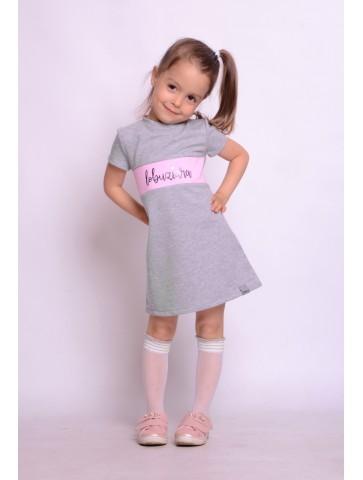 Sukienka łobuziara dla dziewczynki.