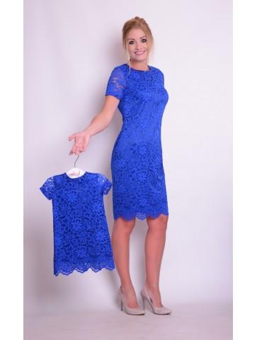Eleganckie koronkowe sukienki dla mamy i córki
