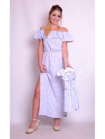 Sukienki hiszpanki maxi dla mamy i córki