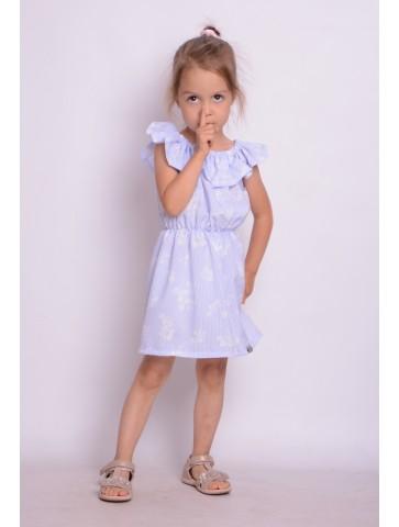 Blau Kleid Spanische