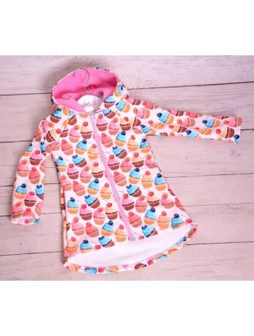 Jesienny płaszczyk dla dziewczynki