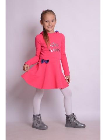 Sukienka z kapturem GIRL GANG