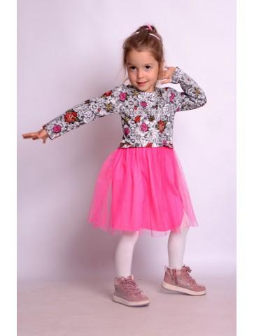 Tiulowa sukienka dla małej księżniczki