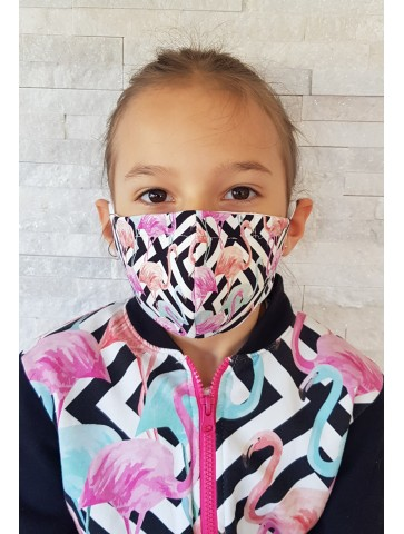 Profilierte Baumwollmaske...
