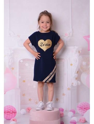 Sukienka z imieniem dziecka