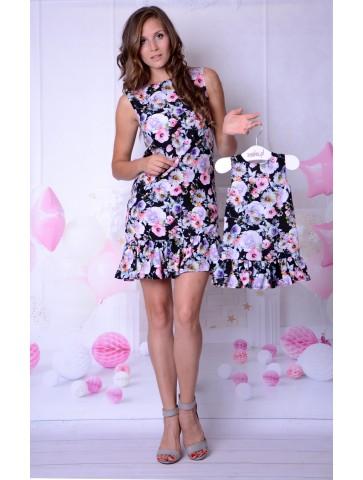 Romantisches Blumenkleid...