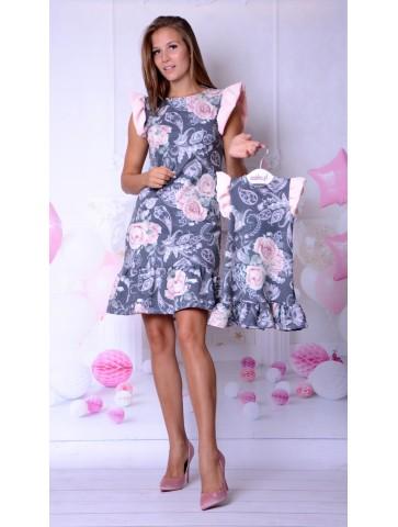 Eleganckie sukienki dla mamy i córki na komunię lub wesele